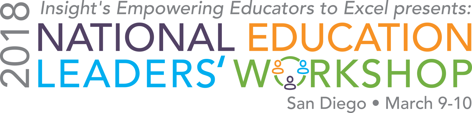 National Education Leaders' Workshop - San Diego - March 2018