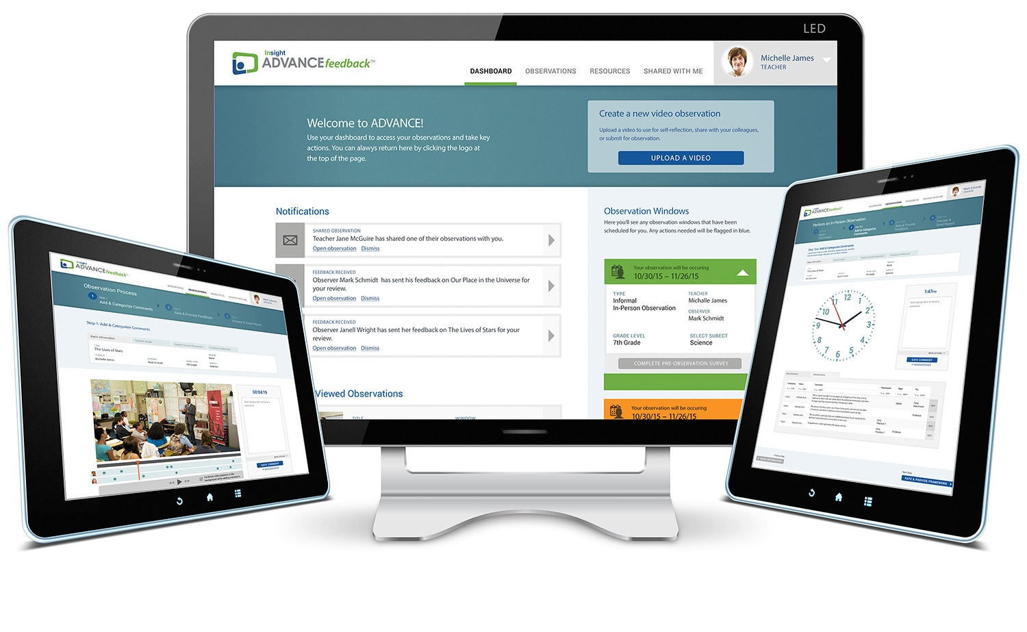 ADVANCEfeedback powered by Insight Education Group