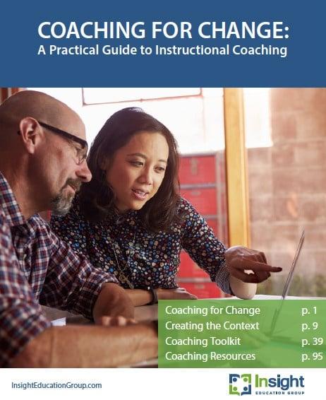 Coaching for Change - A Practical Guide to Instructional Coaching